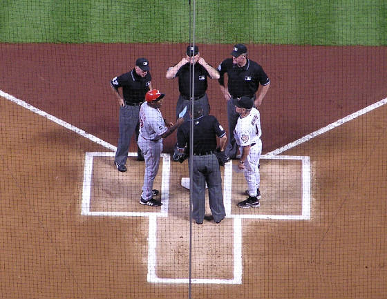 Exchanging the Line Ups-Minute Maid,Houston,Texas