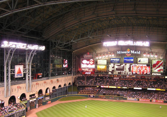 Looking around Minute Maid - 1