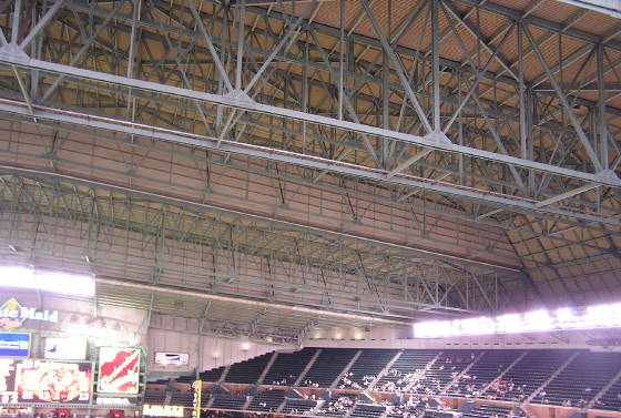 Looking around Minute Maid - 2 - the roof