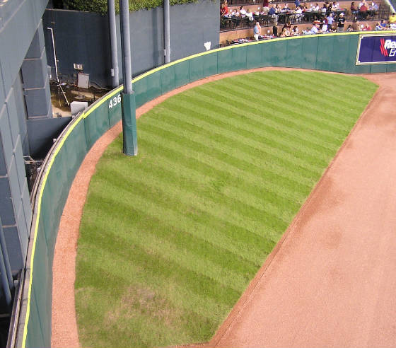 The Tal Hill in Center field - Minute Maid Park